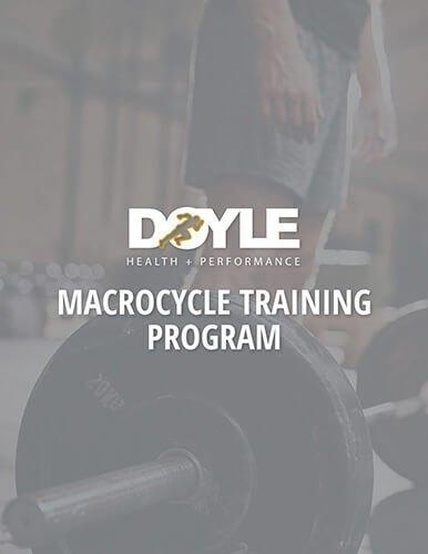 Macrocycle Training Program2